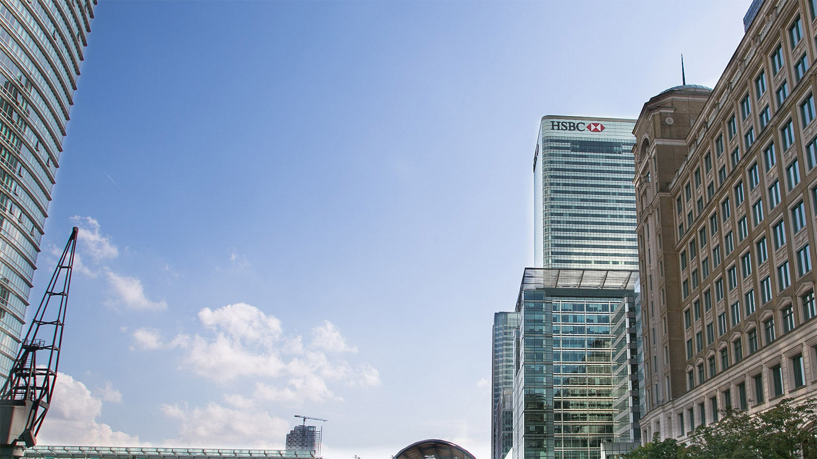 HSBC's headquarters in Canary Wharf, London