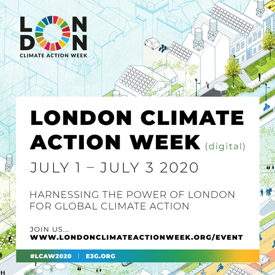 A poster for London Climate Action Week.