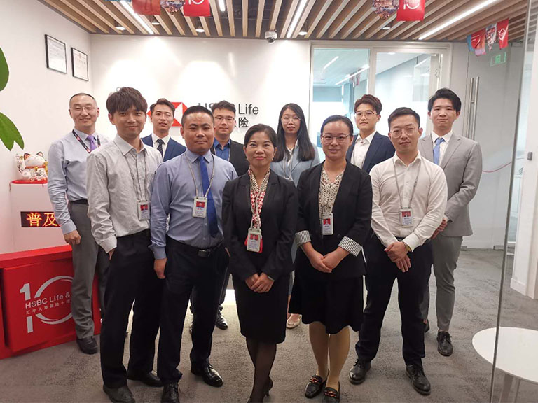 Some of our new wealth planners recently hired in Hangzhou